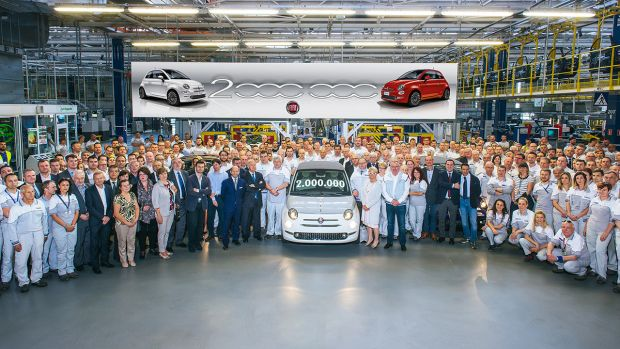 10 May 2018 The Two Millionth Fiat 500 Rolls Off The Line