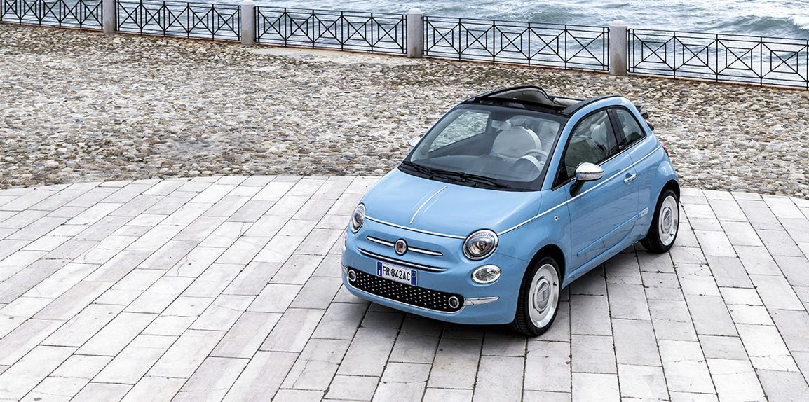 Exclusive Fiat 500 Spiaggina '58 is the special birthday tribute to Fiat 500